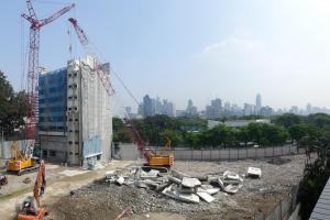 18-04-03 HRR ภาพรวมความก้าวหน้าอาคารไทยประกันและโอลิมเปีย